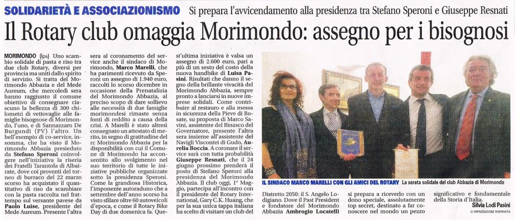 RC Morimondo Abbazia e RC Mede Aureum