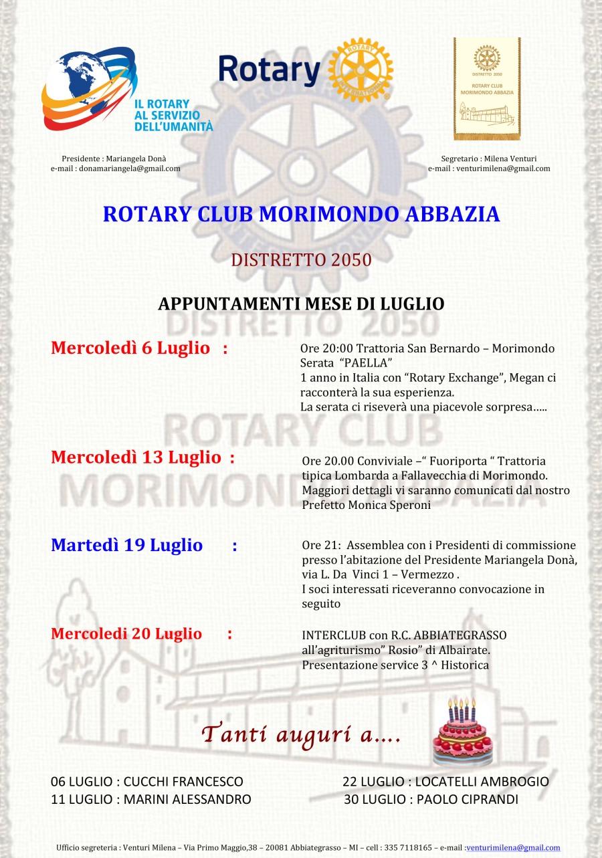 Microsoft Word - PROGRAMMA LUGLIO.docx