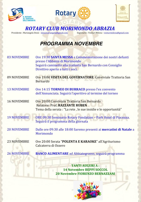 Microsoft Word - Programma novembre.docx