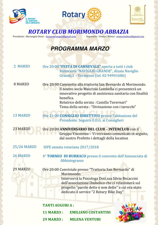 Microsoft Word - Programma MARZO 2017.docx